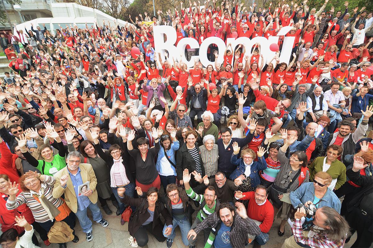 Barcelona, Spain: Barcelona en Comú, a movement-party wins the city