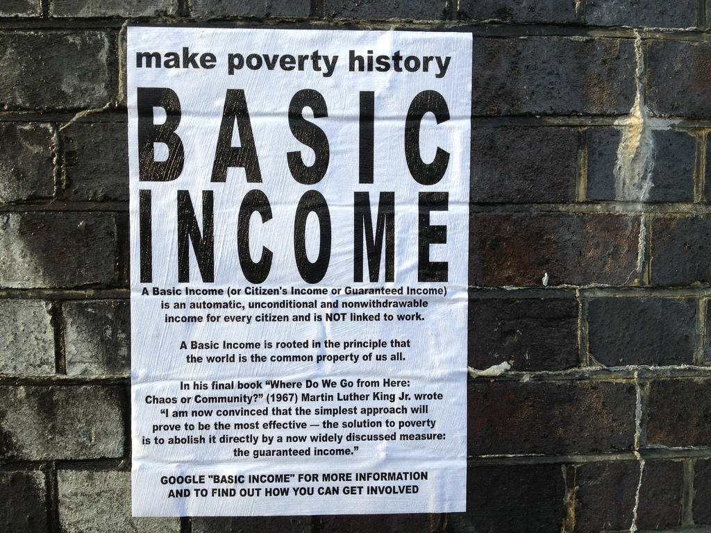 How to Fund a Universal Basic Income Without Increasing Taxes or Inflation