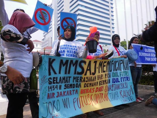 Jakarta: Movement against Water Privatization