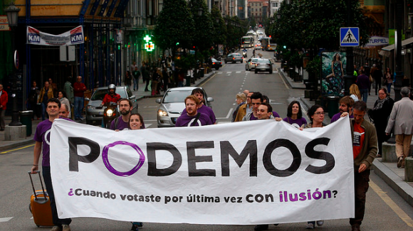 How Tech-Savvy Podemos Became One of Spain's Most Popular Parties in 100 Days