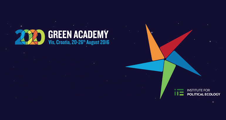"The ""Green Academy 2020"" module on the Commons and the State (Event)"