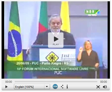 lula on free software